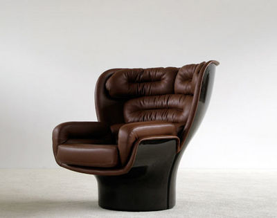 FURNITURE-LOVE.COM - Fauteuil-FURNITURE-LOVE.COM-Elda Lounge chair Joe Colombo