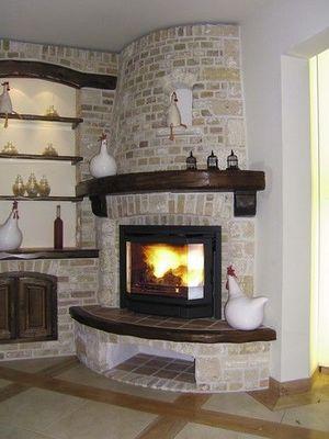 Bodart & Gonay - Chemin�e � foyer ferm�-Bodart & Gonay-PRISMA