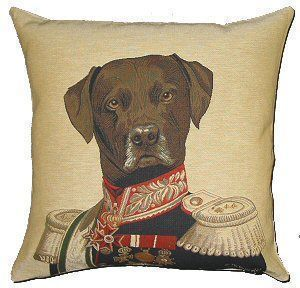 Belgian Tapestries - Coussin carré-Belgian Tapestries-PC-329