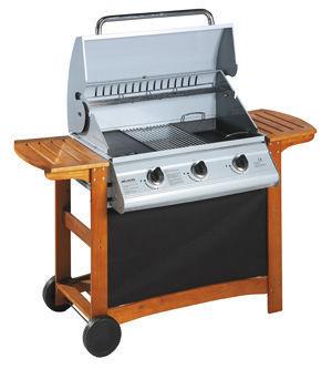 INVICTA - Barbecue au charbon-INVICTA-Barbecue plancha portland