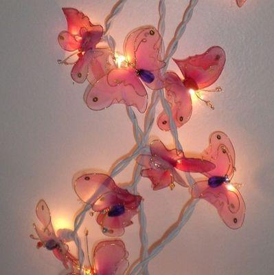 atoutdeco.com - Guirlande enfant-atoutdeco.com-guirlande lumineuse papillons