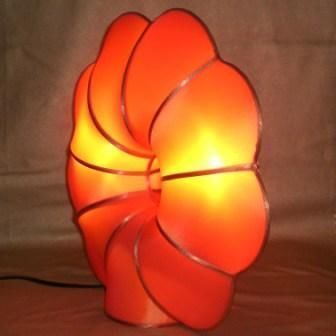 atoutdeco.com - Lampe � poser-atoutdeco.com-Lampe en soie naturelle mod�le