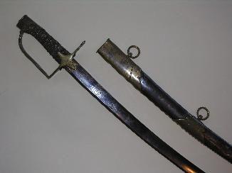 Aux Armes d'Antan - Sabre-Aux Armes d'Antan-Beau sabre d?Officier de Chasseur à cheval, sur le modèle 1792