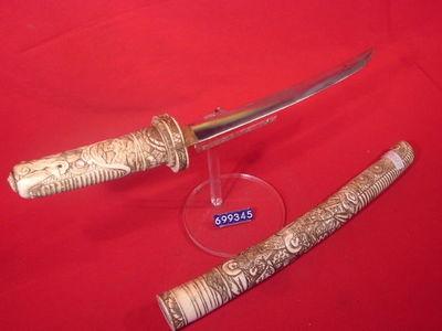 LE HUssARD - Katana sabre japonais-LE HUssARD-TANTO DE COUR JAPONAIS