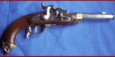 Cedric Rolly Armes Anciennes - Pistolet et révolver-Cedric Rolly Armes Anciennes-PISTOLET DE CAVALERIE ALLEMAND MODELE 1850