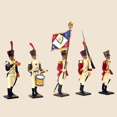 Cbg Mignot - Soldat de plomb-Cbg Mignot-Bataillon Valaisan 1805