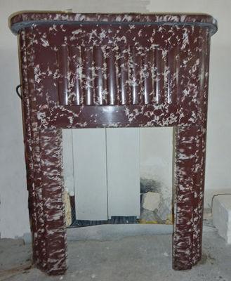 LES MEMOIRES D' ADRIEN - Manteau de cheminée-LES MEMOIRES D' ADRIEN-Cheminée en marbre