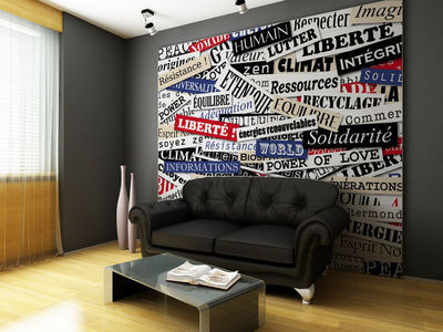 DECLIK - Papier peint panoramique-DECLIK-conscience