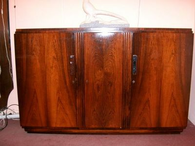 Philippe Pope - Buffet bas-Philippe Pope-Buffet art deco 1930