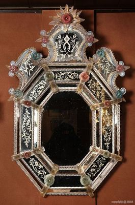 Galerie Atena - Miroir venitien-Galerie Atena-Miroir de Venise