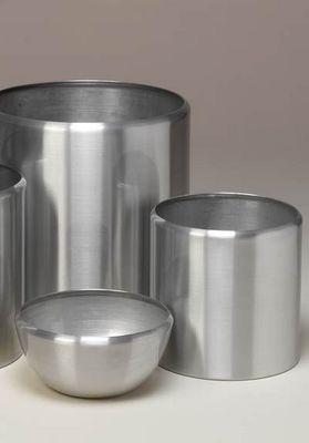 DESIGNER PLANTERS - Pot de jardin-DESIGNER PLANTERS-Spun Aluminium Planters
