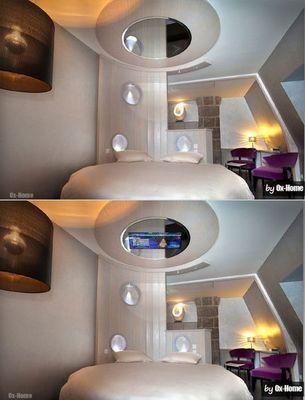 OX-HOME - Plafond tendu miroir-OX-HOME-Mirror Screen