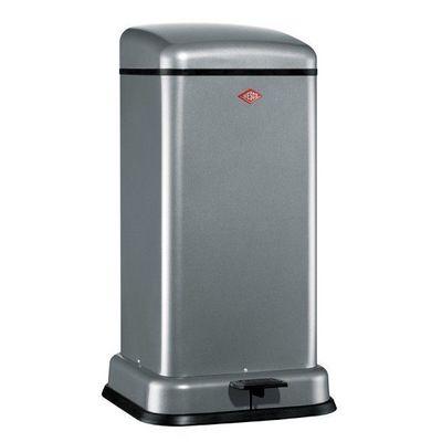 Wesco - Poubelle de cuisine-Wesco-Tower kick 33L grise