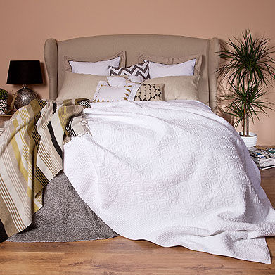 Zara Home - Couvre-lit-Zara Home-Couvre-Lit et Housse de Coussin Brianna
