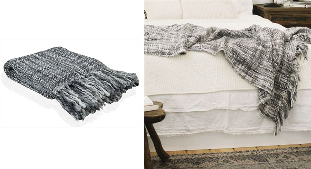 Andrea House Tartan rug Bedspreads and bed-blankets Household Linen  |