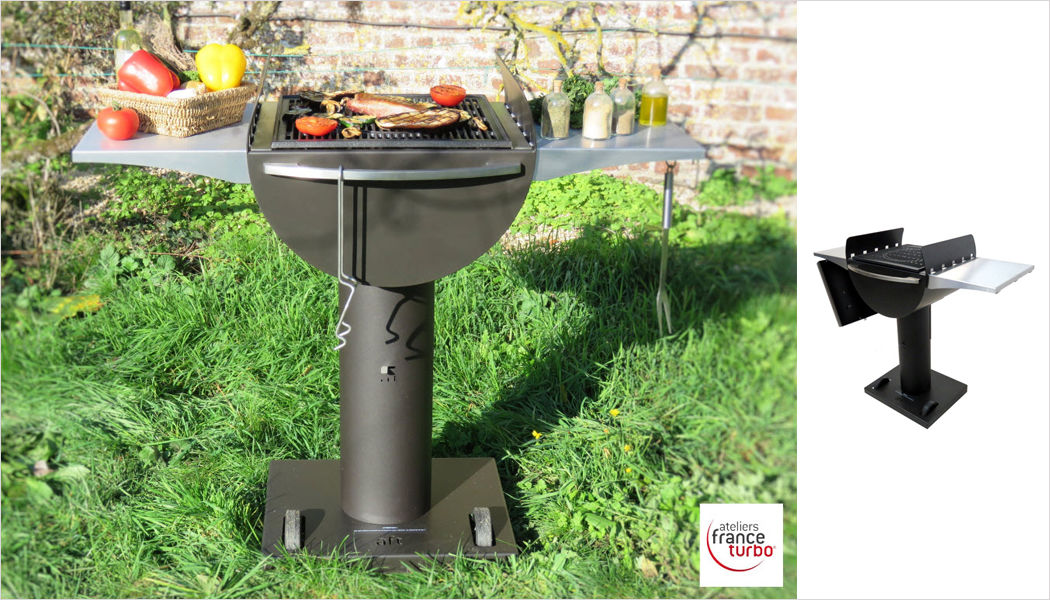 ATELIERS FRANCE TURBO Charcoal barbecue Barbecue Outdoor Miscellaneous  |