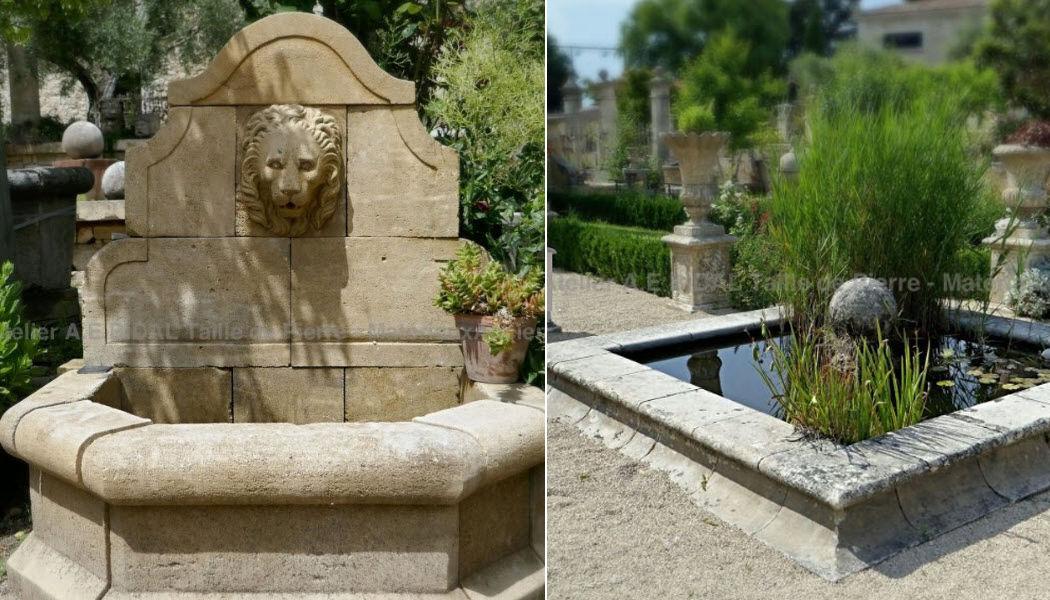 Atelier Bidal Outdoor fountain Fountains Garden Pots  |