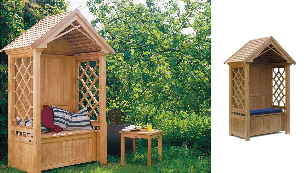Lindsey Teak Arbour seat Garden seats Garden Furniture  |