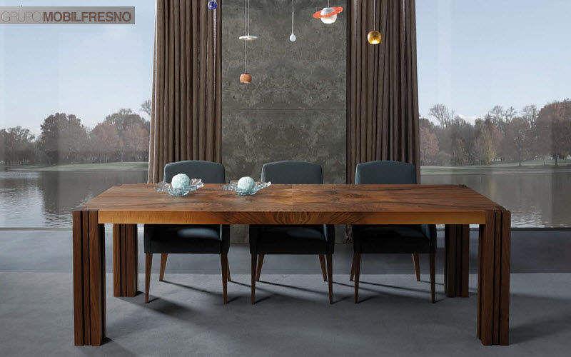 MOBIL FRESNO - AlterNative Rectangular dining table Dining tables Tables and Misc. Dining room | Design Contemporary