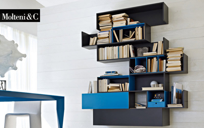 Molteni & C Multi-level wall shelf Shelves Storage  |