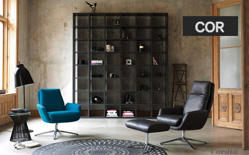 COR Armchair and floor cushion Armchairs Seats & Sofas Living room-Bar | Design Contemporary