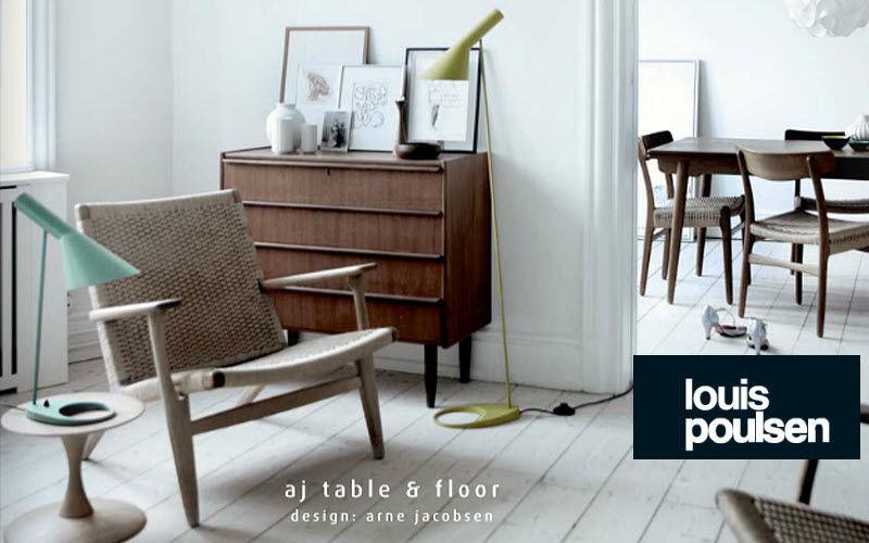 Louis Poulsen Floor lamp Lamp-holders Lighting : Indoor Dining room | Design Contemporary