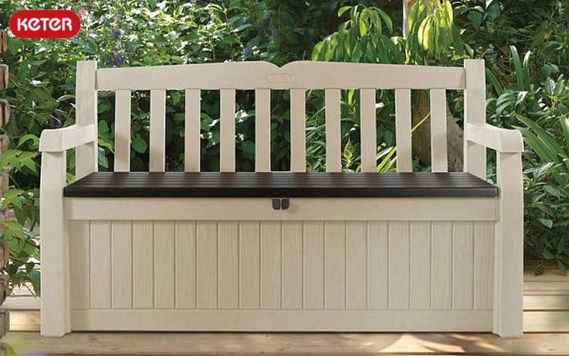 KETER Garden bench with storage Garden seats Garden Furniture Balcony-Terrace | Cottage