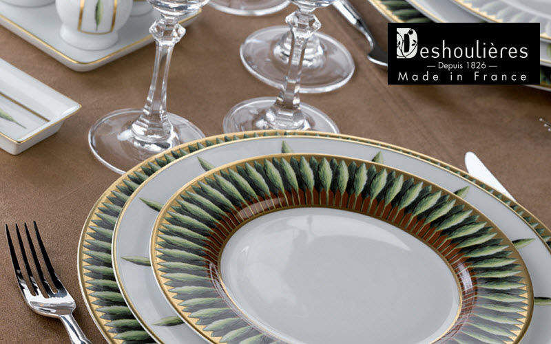 Deshoulieres Table service Table sets Crockery  |