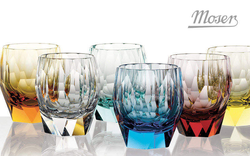 MOSER Tumbler Glasses Glassware  |