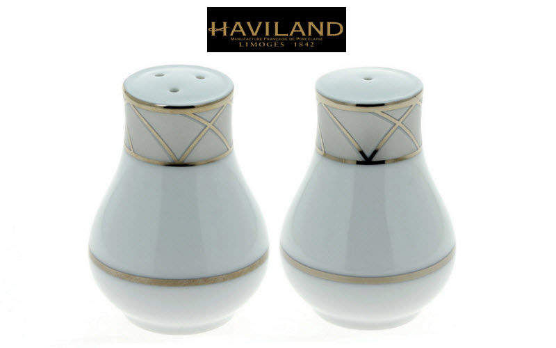Haviland Saltcellar and pepperpot Condiments Tabletop accessories  |