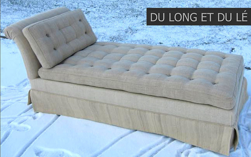 Du Long et du Lé Lounge day bed Single beds Furniture Beds  |