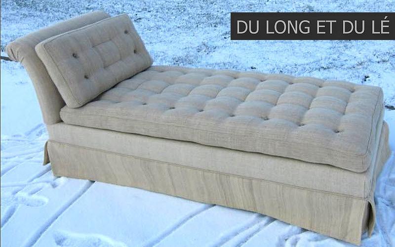 Du Long et du Lé Lounge day bed Single beds Furniture Beds   