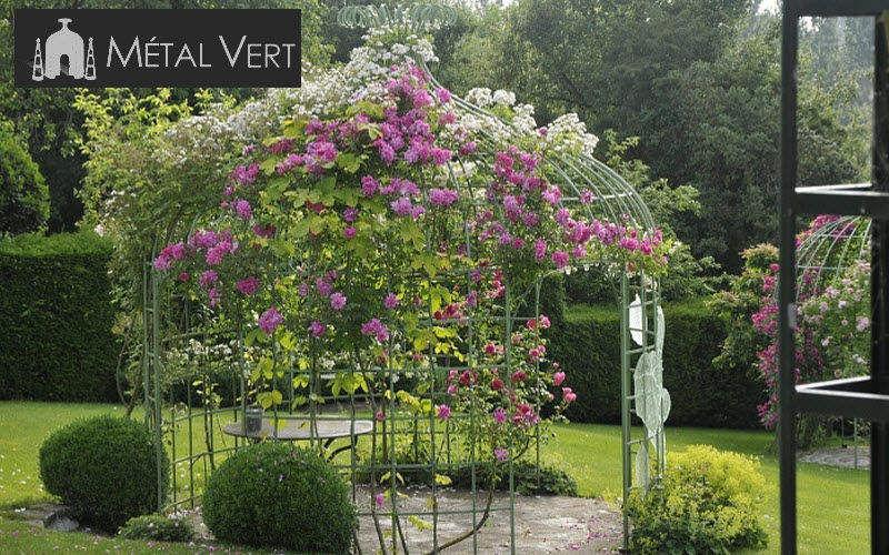 METAL VERT Gazebo Huts and gazebos Garden Gazebos Gates... Garden-Pool | Cottage