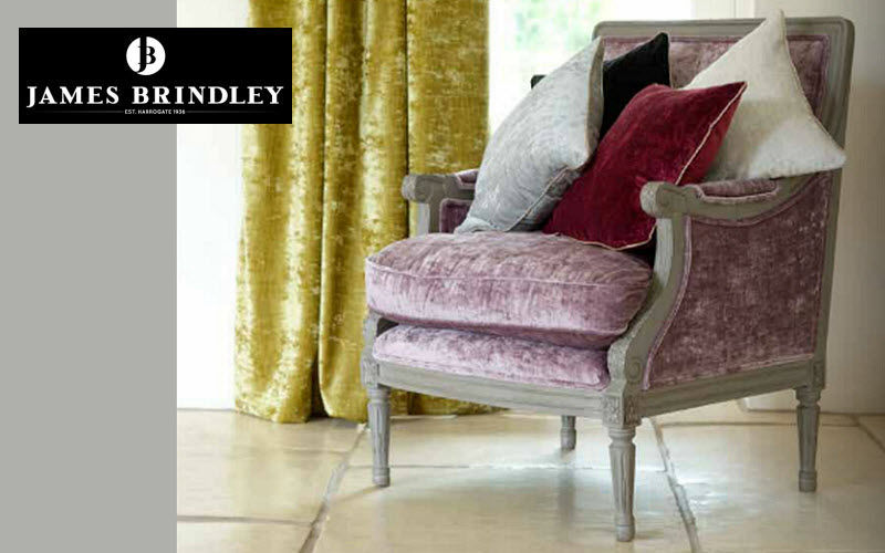 James Brindley Velvet Furnishing fabrics Curtains Fabrics Trimmings  |