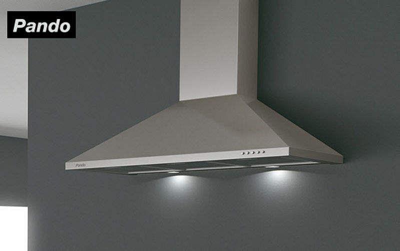 PANDO Wall mount hood Extractor hoods Kitchen Equipment  |