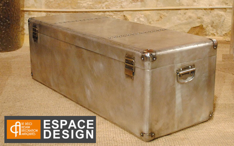 ESPACE DESIGN BORDEAUX Trunk Chests Storage  | Eclectic