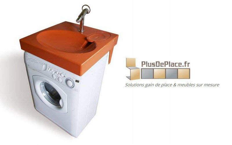 Aryga - PlusDePlace.fr Space saving lavabo Sinks and handbasins Bathroom Accessories and Fixtures   