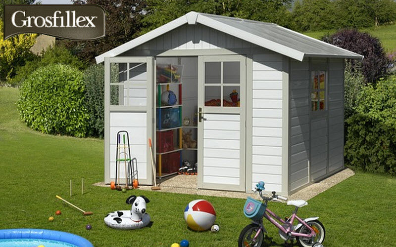 Grosfillex Resin Garden Shed Shelters And Summer Houses Garden Gazebos  Gates... |