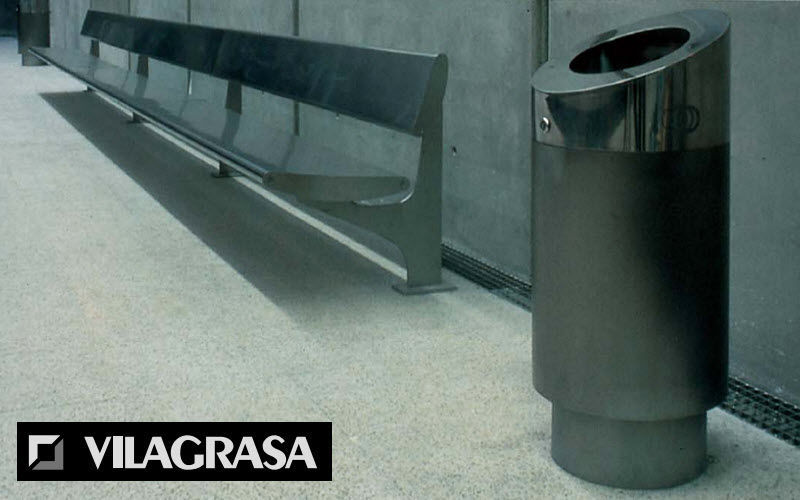 VILAGRASA Litter bin Street furniture Outdoor Miscellaneous  |