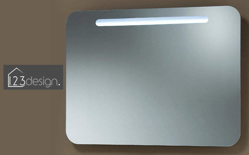 123 design Illuminated mirror Mirrors Bathroom Bathroom Accessories and Fixtures   