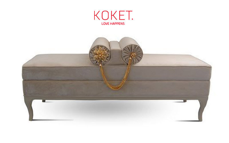 KOKET LOVE HAPPENS Bench seat Banquettes Seats & Sofas  |