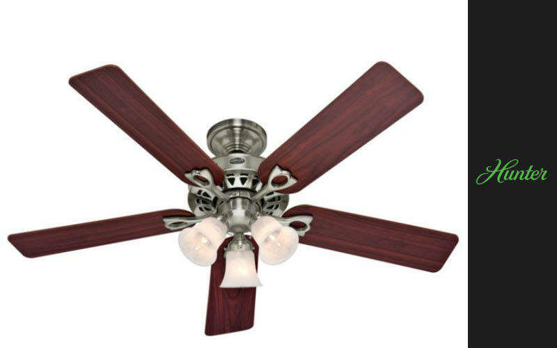 HUNTER Ceiling fan Air conditioning and ventilation House Equipment  |