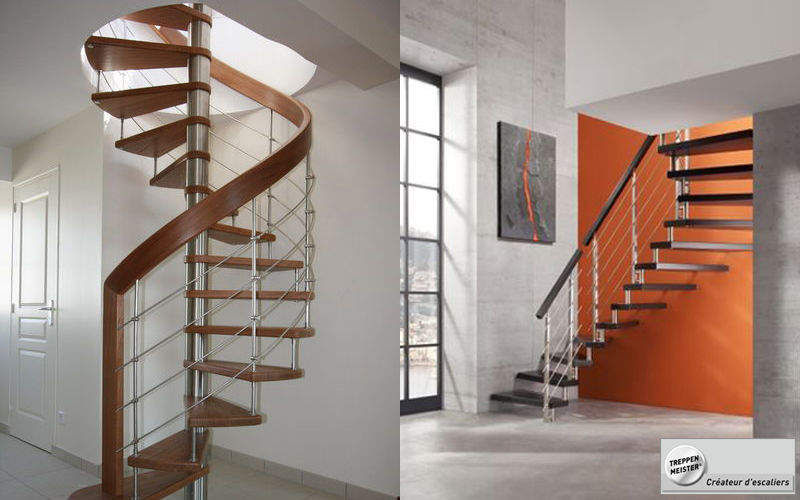 Créateurs d'Escaliers Treppenmeister Spiral staircase Stairs and ladders House Equipment  |