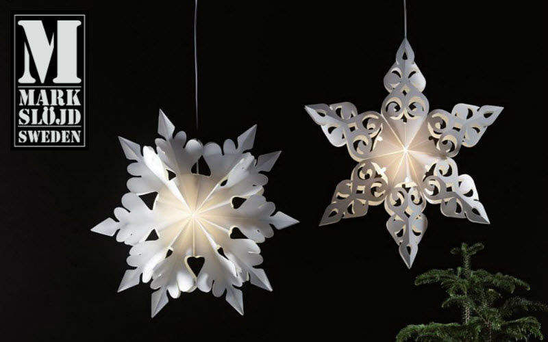 Markslöjd Christmas star Christmas decorations Christmas and Holidays  |