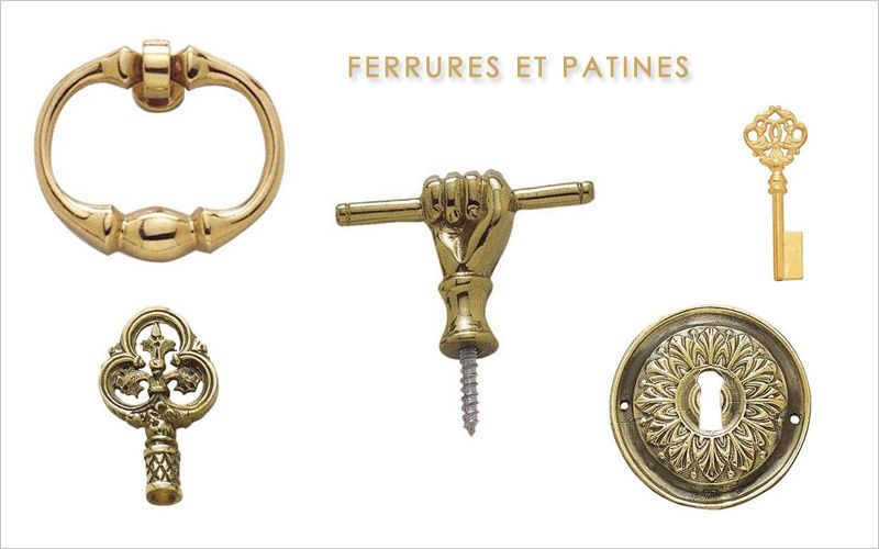 FERRURES ET PATINES Escutcheon Door fittings Doors and Windows  |