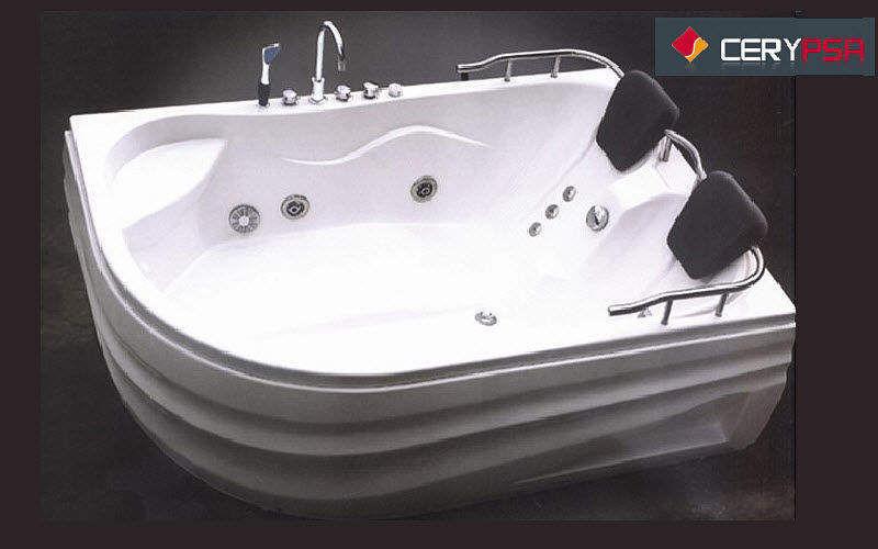 CERYPSA Double spa bath Bathtubs Bathroom Accessories and Fixtures  |