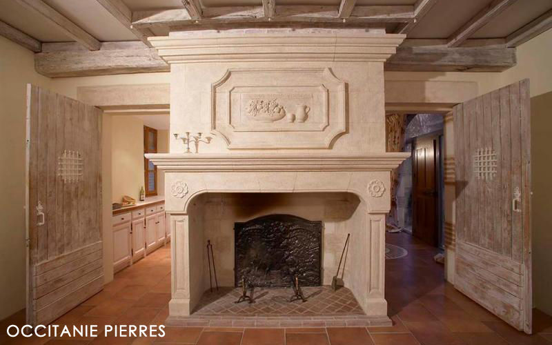 Occitanie Pierres Open fireplace Fireplaces Fireplace  |