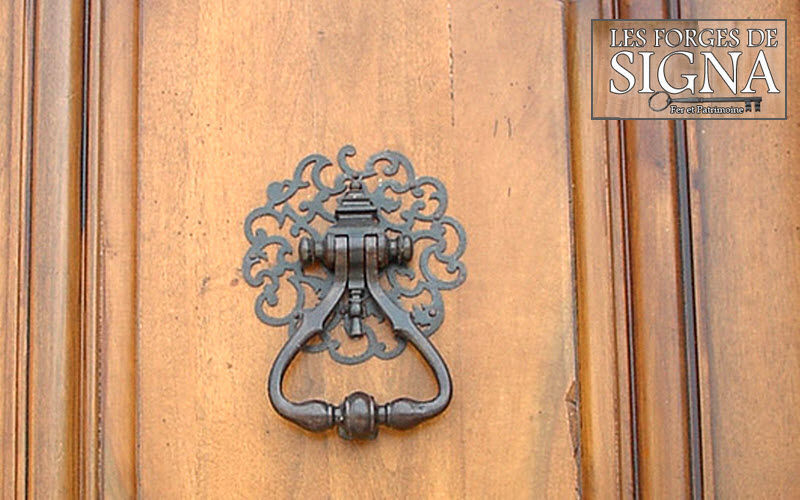 Les Forges De Signa Doorknocker Door fittings Doors and Windows  |