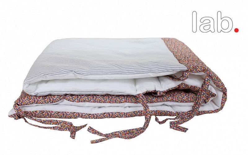 LAB. Crib bumper pad Baby bed linen Children's corner  |