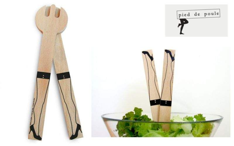 PIED DE POULE Salad service Knife and fork sets Cutlery  |